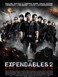 Affiche The Expendables 2