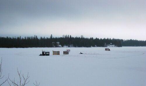 La pêche sur la glace
