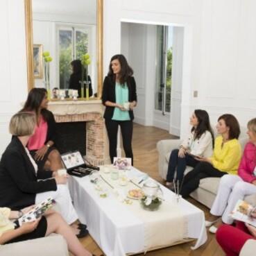 Principe et déroulement d'une réunion à domicile