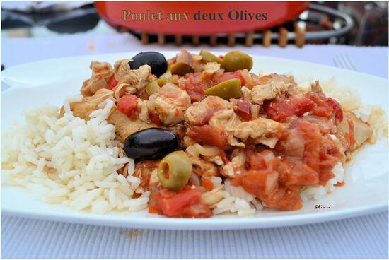 Poulet aux Deux Olives