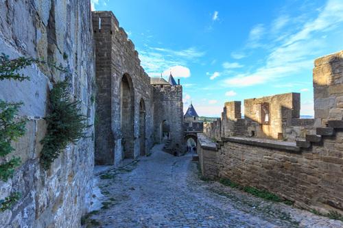 Porte de l'Aude, vu de l'interieur