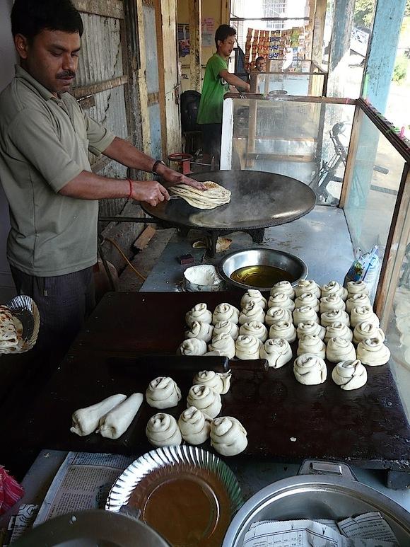 un petit boulanger de rue