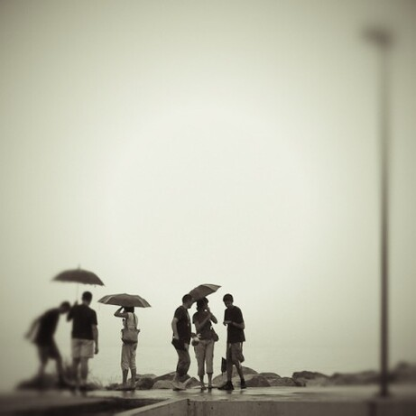 art et parapluie