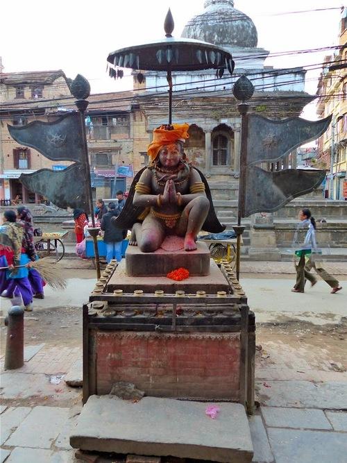 dans le centre de Patan