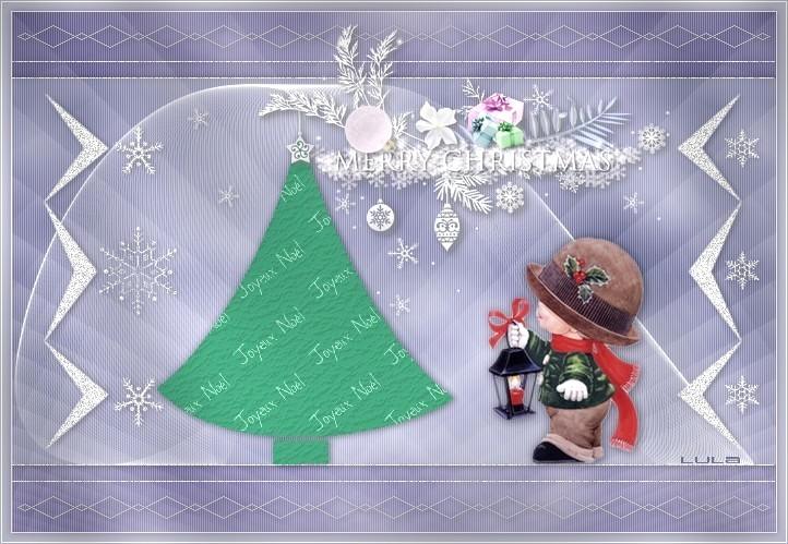 Bientôt la fête de Noël . . .