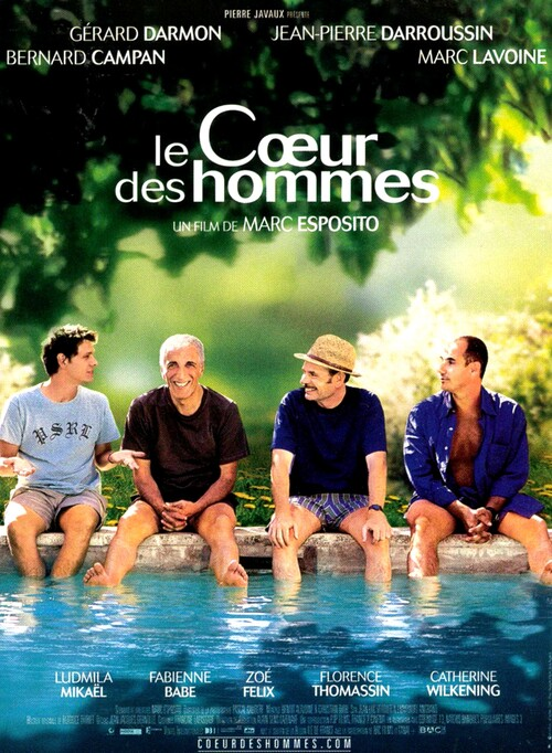 LE COEUR DES HOMMES BOX  OFFICE FRANCE 2003