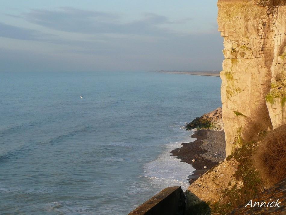 La mer ... en Manche.