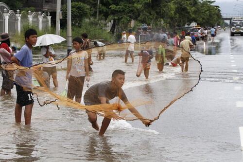 Quand le peuple de l'eau perd pied !