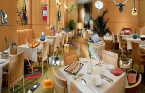 Modern restaurant - Hidden objects