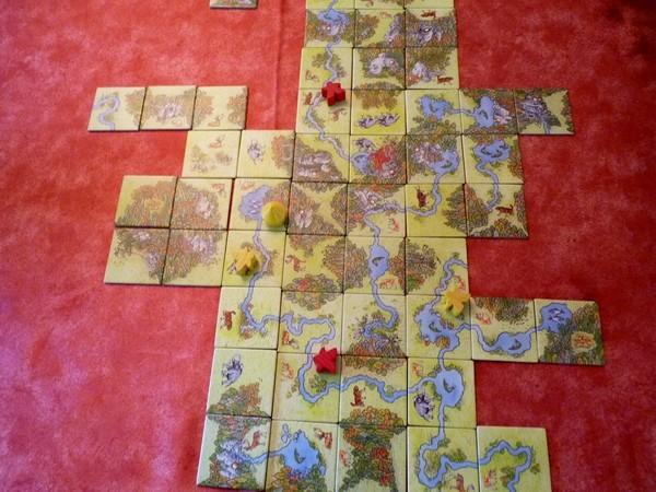 03 - Carcassonne vert (au centre)
