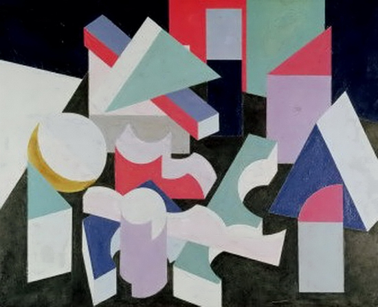 Patrick Henry Bruce, Composition, 1927