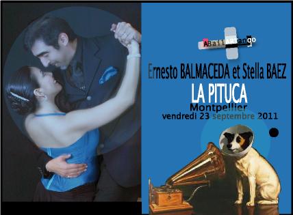 Ernesto BALMACEDA et Stella BAEZ en démo à La Pituca ce vendredi 23 septembre