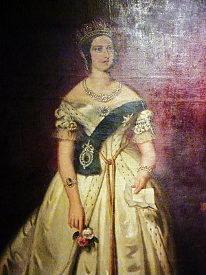 Ottawa parlement portrait Victoria