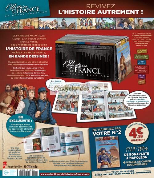 N° 1 Histoire de France en bande dessinée - Lancement