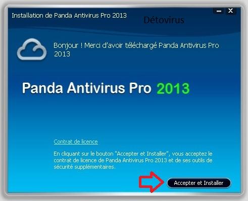 Panda antivirus Pro 2013 - Licence 180 jours gratuits