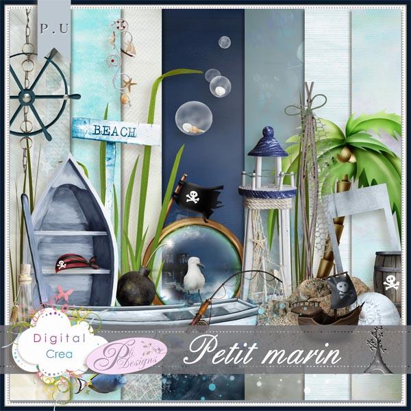 """Mini kit """"Petit marin"""" by Pli Designs"""