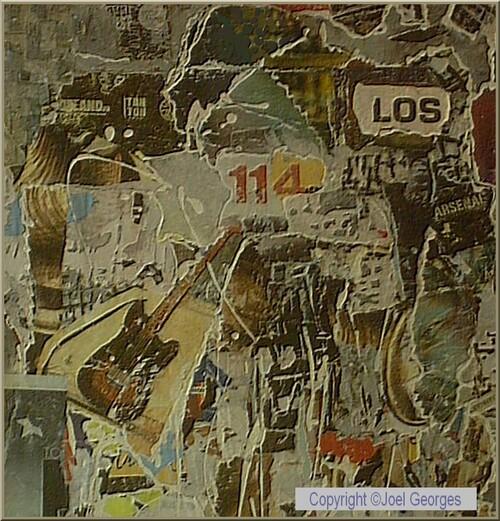 Collage affiche : Los 114 création Joel Georges