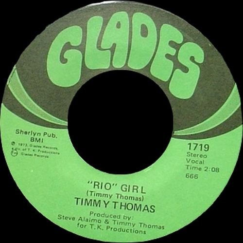 """Timmy Thomas : Album """" You're The Song I've Always Wanted To Sing """" Glades Records 6504 [ US ]"""