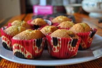 Cupcakes chocolat au lait