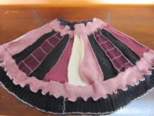 jupe rose glacée
