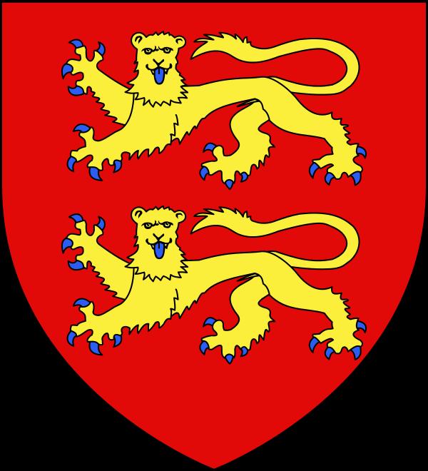 Blason des ducs de Normandie