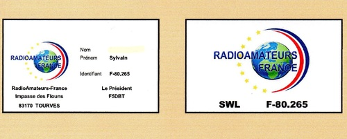 SWL Short Waves Listener Ecoute ondes courte
