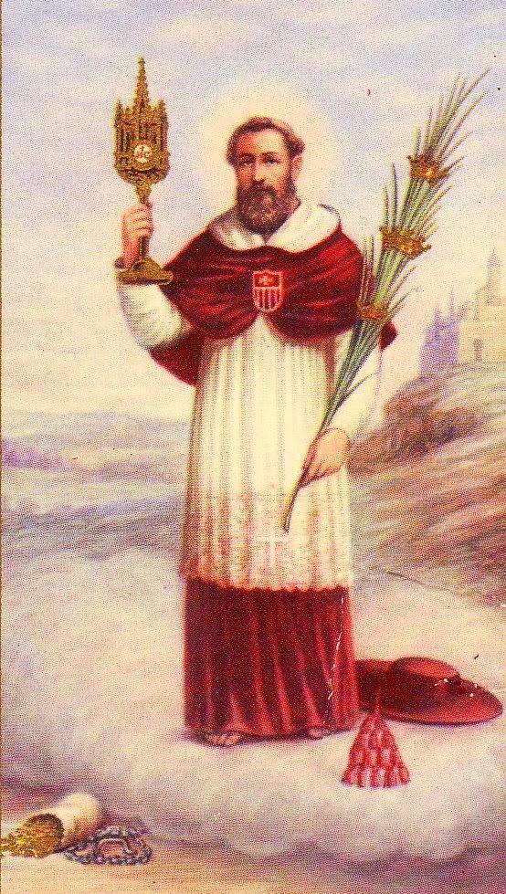 Saint Raymond Nonnat. Prêtre de l'Ordre de la Merci († 1240)