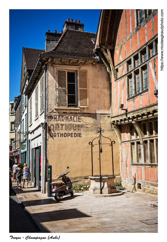 Troyes, cité médiévale de Champagne