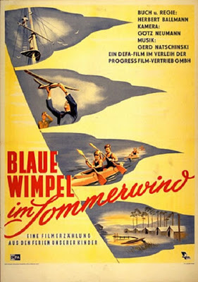 Blaue Wimpel im Sommerwind / Blue Pennants In The Summer Wind. 1952.