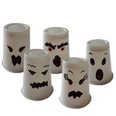 Une idée artistique autour d'Halloween