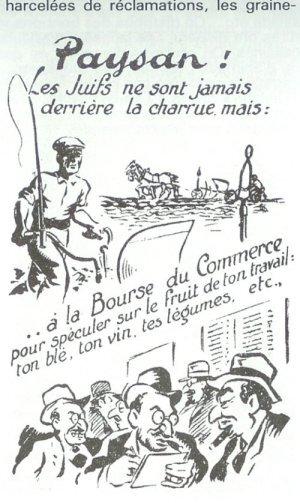 La propagande de Vichy dans les campagnes : les  juifs boucs émissaires des restrictions