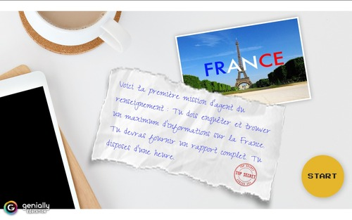 La France - escape game numérique