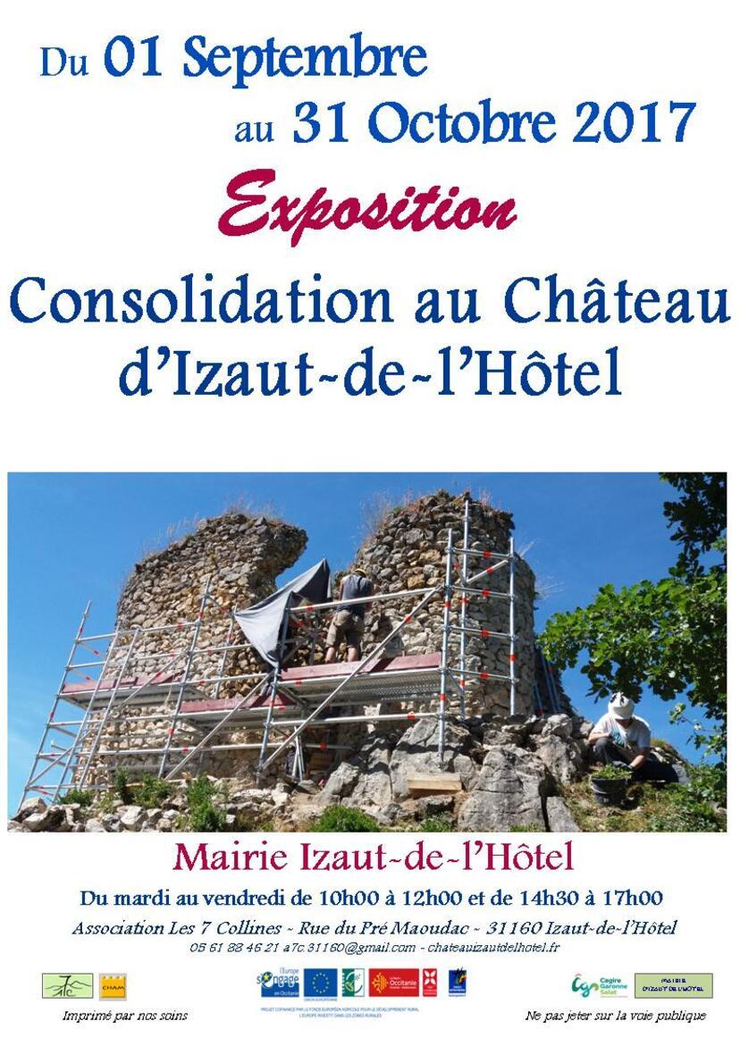 2017 : Exposition à Izaut-de-l'Hôtel