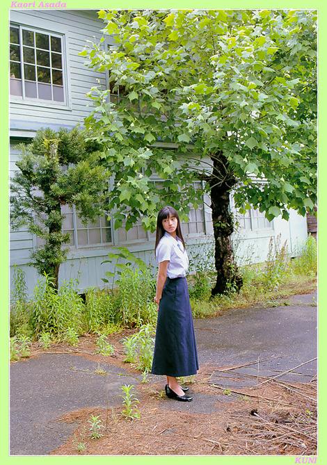 Model Collection : ( [KUNI Scan] - |vol.1| Kaori Asada/麻田かおり )
