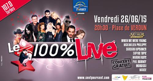 100% Radio Live Tarbes