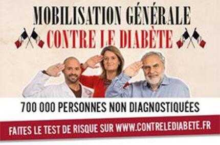 Mobilisation générale contre le diabète