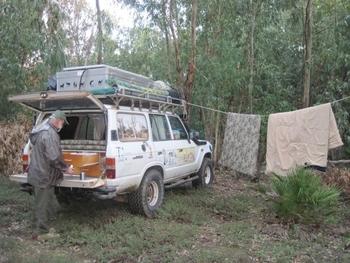 maroc premier bivouac du voyage