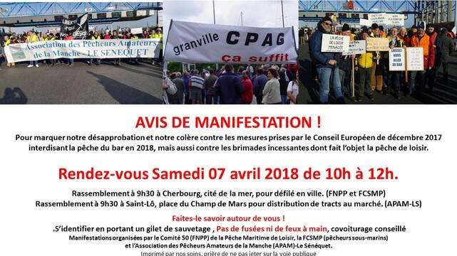 BAR : NON AUX MESURES DECIDEES PAR L'EUROPE POUR LA PECHE DE LOISIR !