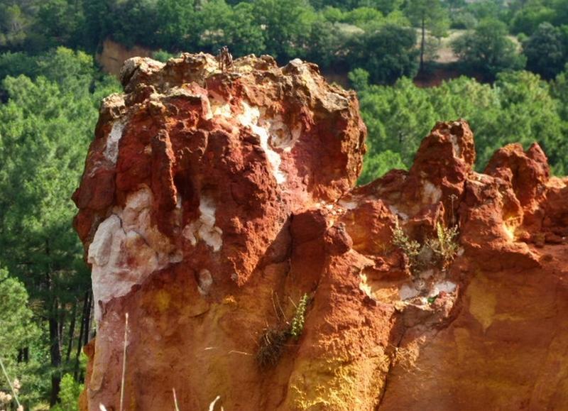 Roussillon, les ocres.