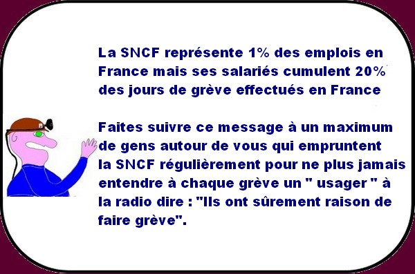 """Au lieu de dire """"la SeNeCeFe a raison de faire grève"""" , apprenez à mieux connaitre ces nantis!"""