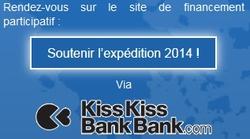 Cliquer pour participer au financement de l'expédition