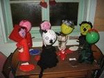 Marionnettes chaperon rouge