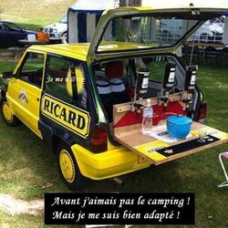 Le camping OK si c'est bien organisé!!