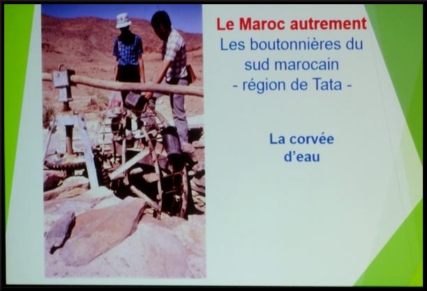 """Pierre Pothérat a présenté """"Le Maroc autrement"""", sous l'égide du Festival de Châtillon-Scènes """"Cultures sans Frontières"""