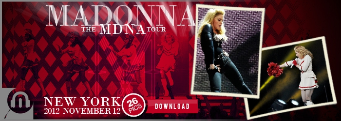 The MDNA Tour - NYC Nov12 - Pictures