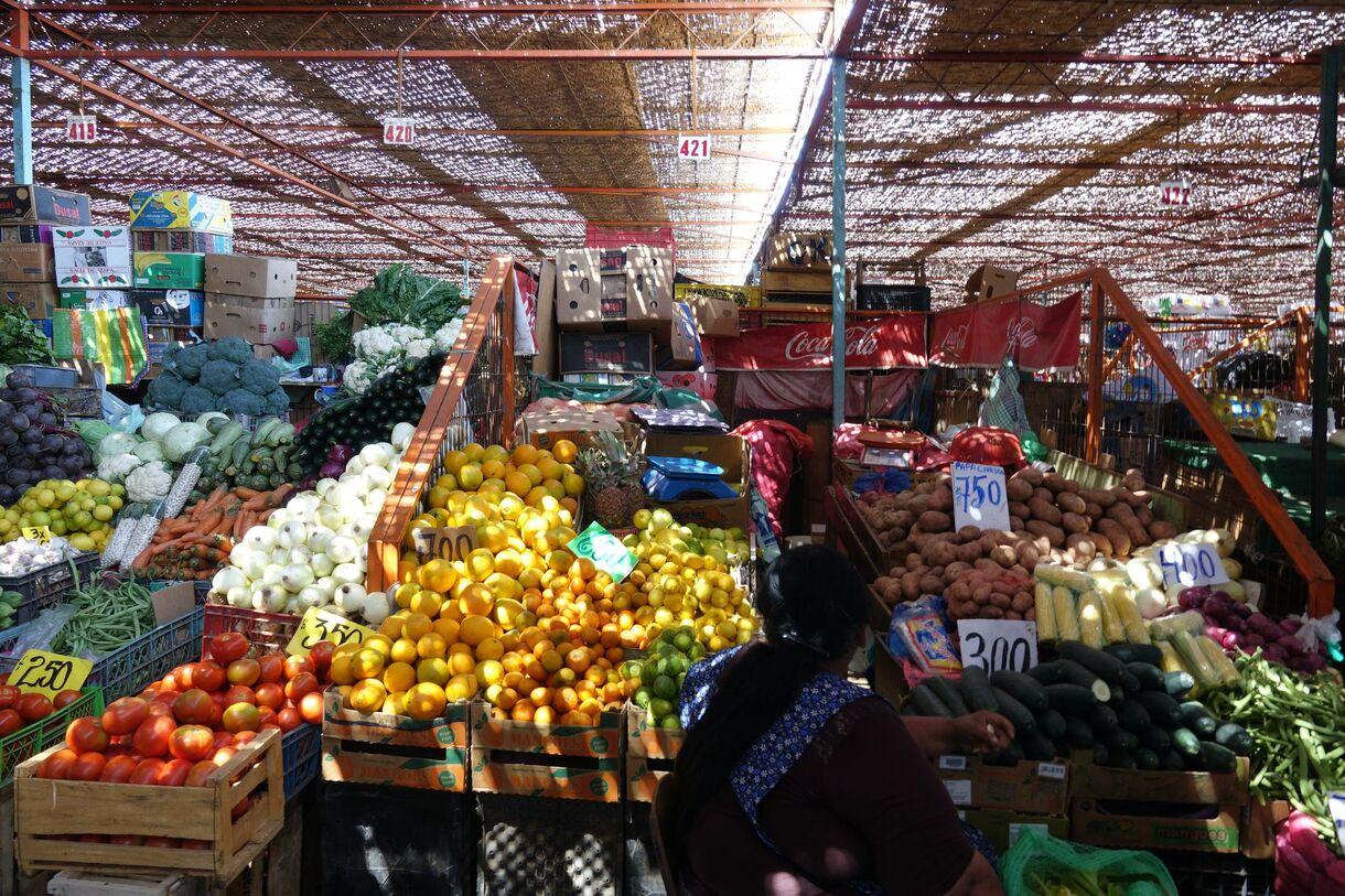 Arica ~ Au marché El Agro