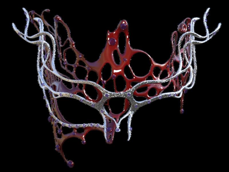 Tube de masque en métal (render-image)
