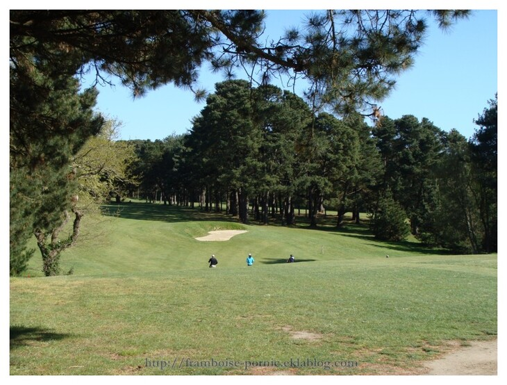 Golf de Pornic initiation gratuite les 20 et 21 avril 2012