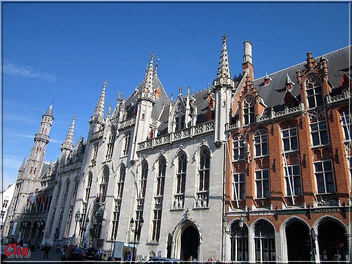 Bruges - De Markt - La Grand-Place