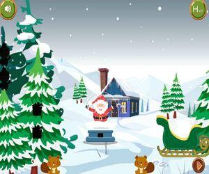 Jouer à 8B Snow globe Santa escape